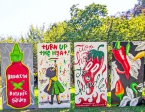 Chile Pepper Festival at Brooklyn Botanic Garden. Photo by Liz Ligon. Courtesy of Brooklyn Botanic Garden.