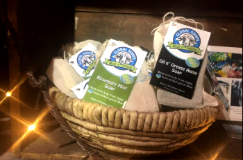 Global Goat Soap can be found at Frazee Gardens and Big Tuck's Feed & More