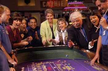 Prairie Band Casino Game Table