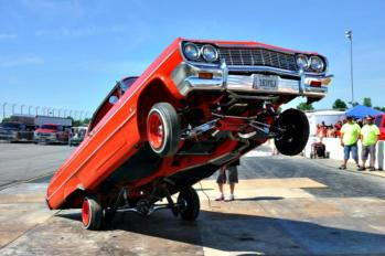 Car enthusiasts don't want to miss Slamology at Lucas Oil Raceway this weekend.