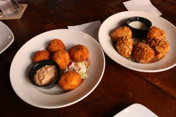 The Iowa Taproom appetizers
