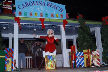 Live music at Christmas by the Sea