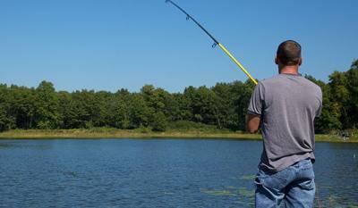 Fishing Oak Ridge Prairie