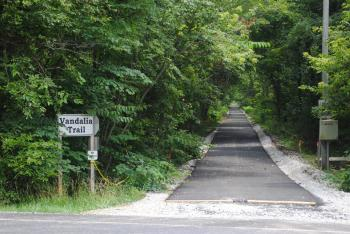 The Vandalia Trail at Ind. 75 in Coatesville
