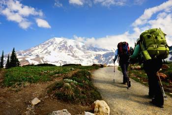 Backpacking Mount Rainier