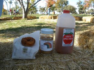 Cider, Apple Sauce and Donuts are a must-do at Apple Hill