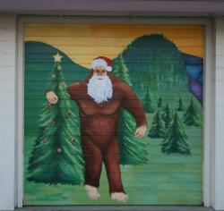 Springfield Sasquatch Mural