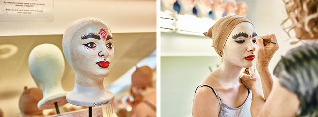 Pageant of the Masters Makeup