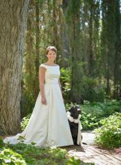 Bride with best friend