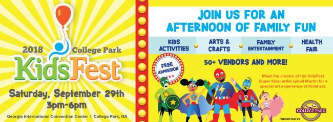KidsFest 2018 Flyer