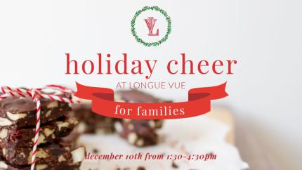 Holiday Cheer at Longue Vue House & Gardens