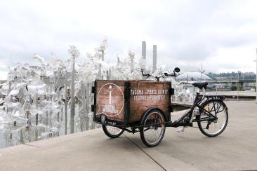 TIMBR, the new visitor information tricycle