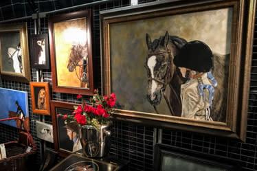 PA National Horse Show Portrait