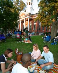 Bluemont Concert Series Loudoun County Courthouse