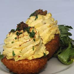 60 Bites - Frank's Restaurant - Deep Fried Deviled Eggs