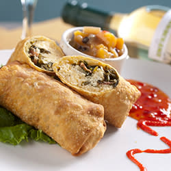 60 Bites - Pier House - Low Country Egg Rolls