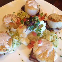 60 Bites - Waterscapes - Pan-seared Diver Scallops