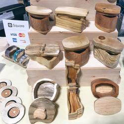 HBG Flea Wood Boxes