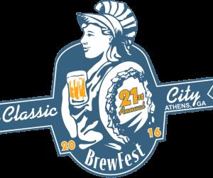 Classic City Brew Fest 2016 Logo