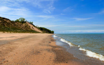 Central Beach Indiana Dunes National Lakeshore