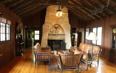 Cypress Log Cabin - Century of Progress Homes