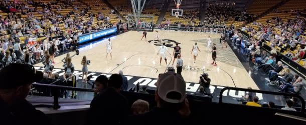 CU Women's Basketball Coors Center