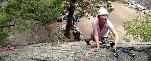 Climbing Eldorado Canyon