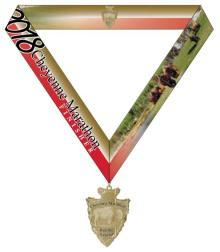 Medal w/ribbon race