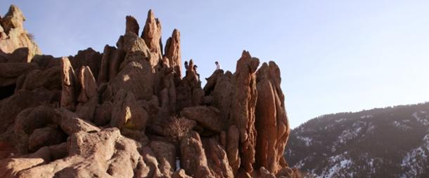 Red Rocks Trail at Settler's Park Boulder