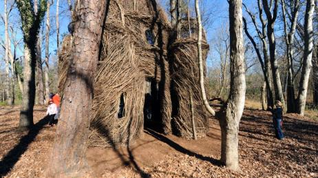 A Site to Behold Stickwork