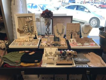 Blush Boutique in Danville offers a great selection of jewelry and accessories.