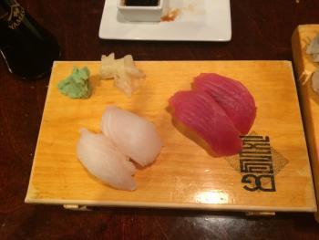 Nigiri-style sushi was excellent!