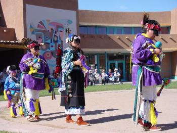 Zuni Dancers at the  Indian Pueblo  Cultural Center