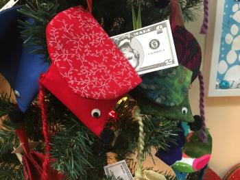 Gift card or money holder at Gallery on the Square