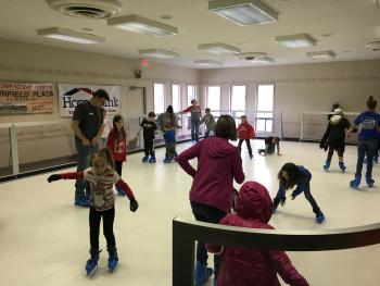 Iceless Rink at Plainfield's Guilford Township Community Center