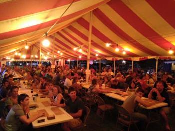 The Amo Fish Fry Festival bingo games are very popular and have big cash payouts each night!