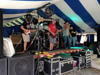 Southern Bridges performs at the Amo Fish Fry Festival on all three nights, beginning between 6 and 7 p.m. (Credit: Dustin Strahl)