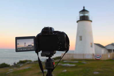 Shooting at Pemaquid Point