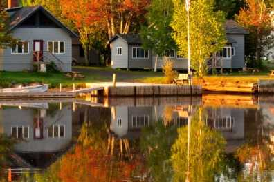 Moosehead Lake Waterfront Cabins with Full Kitchens, Private Campfires and Lasting Memories.