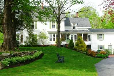 White Cedar Inn Springtime
