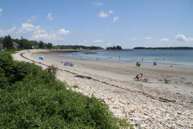 Owls Head Beach Crescent