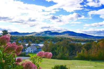 View from Greenville Inn verandah