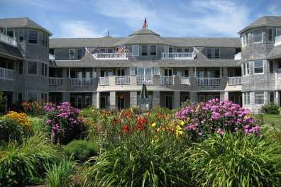 Retirement Community with flowers