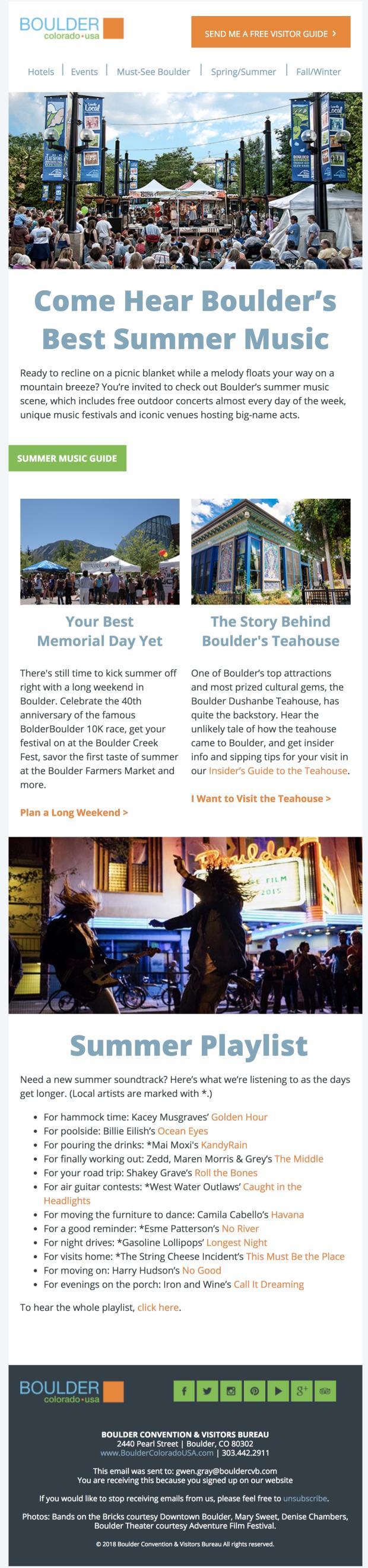 May 2018 Boulder CVB Newsletter