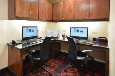 Stay connected with work in our 24-hour business center!