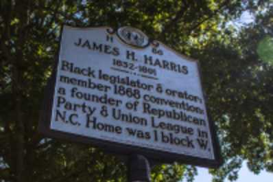 James H. Harris Highway Marker