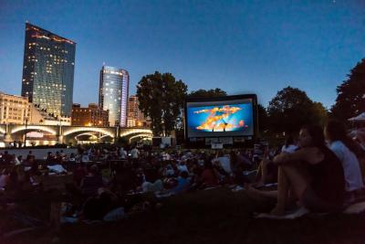 Movies in the Park Event in Grand Rapids