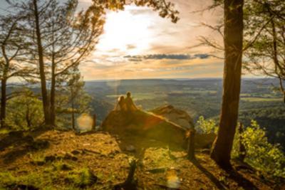 Hawk Rock Hiking Trail in Duncannon, PA