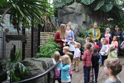 Family fun tour, Franklin Park Conservatory