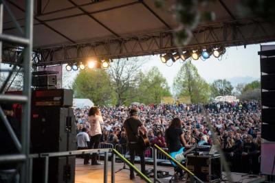 2017 Lilac Festival Stage